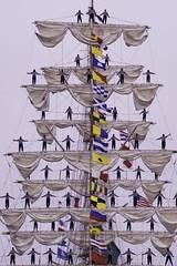 Formal Wear (joegeraci364) Tags: ocean sea people beach water sailboat coast boat marine ship connecticut newengland vessel pride shore maritime sail service mast tug sailor nautical tallship newlondon mexicoo career cuauhtemoc