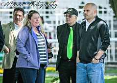 Zilla Team with Michelle Nevin (EASY GOER) Tags: park horse sports canon track belmont racing zilla 56 thoroughbred 400mm 5dmarkiii