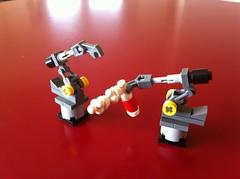 Dummy (Lego Skeleton) Tags: man iron lego tony marvel stark dummy