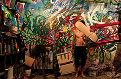REBOR art (reborart) Tags: pink music dog streetart colour art love sport rock cane pine america torino foot graffiti google cool italian bmx no yes board si dumbo like banksy style bank donald pop popart skate dada boarding rober sy itlay muralart pinerolo muralismo rmutt amazeing rebor reborart streetalps