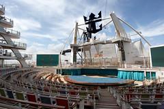 Aqua Theatre (Fionn Luk) Tags: trip travel cruise vacation canon landscape boat ship view royal scene adventure cruiseship 5d caribbean royalcaribbean luk allure fionn allureoftheseas thefootprintdiary