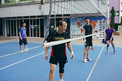 Coach (Alan P. in Hong Kong) Tags: sony a65 documentary hongkong city life volleyball