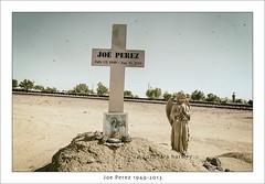 Joe Perez 1949-2013 (_RedShoesGirl_) Tags: california mojavedesert boron californiadesert joeperez tracksidememorial