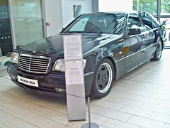 162 Mercedes (W140) S70 AMG (1996) (robertknight16) Tags: germany mercedes 1990s s70 amg brooklands w140 merdesworld