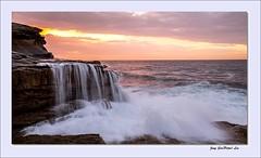 Sea waterfall (jongsoolee5610) Tags: sea seascape waterfall sydney wave australia maroubra sydneysunrise wavewaterfall