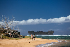 ES8A1311 (repponen) Tags: ocean trip beach garden island hawaii maui shipwreck gods lanai canon5dmarkiii