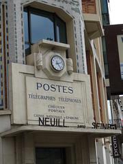 Le palais non idal du facteur Neuill... (Jeanne Menj) Tags: postes poste neuilly ptt tlphones tlgraphe tlcom facteur neuillysurseine caissedpargne chquespostaux