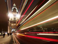 Tower Bridge at Night with Light Trails - London Urban Landscape Photography (Nicholas Goodden) Tags: longexposure nightphotography urban london night towerbridge landscape photography cityscape view traffic famous landmarks busy lighttrails touristic urbanphotography