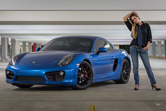 Black & Blue (kian|ski) Tags: car nikon automobile porsche d750 sapphireblue caymans