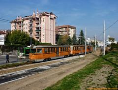 ATM 550 (Luca Adorna) Tags: urban orange milan milano tram urbano atm tramvia atmmilano comasina trammilano milanolimbiate