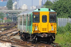 455804 Clapham Junction 05.06.16 (jonf45 - 2.5 million views-Thank you) Tags: electric br rail trains junction class southern multiple emu british railways clapham unit 455 4558 455804