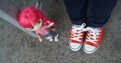 256/366 and Blythe A Day 08 June 2016 - Red shoes