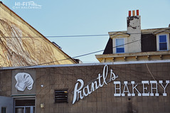 Burnt Almond Torte (Hi-Fi Fotos) Tags: old building sign dessert nikon pittsburgh shadyside rear almond icon burnt bakery torte d5000 prantls hallewell hififotos