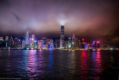 Hong Kong from Kowloon (ravi_pardesi) Tags: china nightphotography light sky beautiful skyline architecture night clouds docks effects photography hongkong amazing pacific outdoor serene drama kowloon longshutter awesomeness photooftheday picoftheday skysraper 2016 primeshot