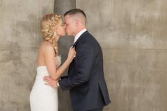 Kiss (arielirving) Tags: wedding canon prime colorado denver