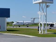 C-GSKW Be1900C Kingston (ZD703) Tags: beechcraft be1900 beech1900c skylinkexpress kingstonairport cgskw kingstonnormanrogersairport