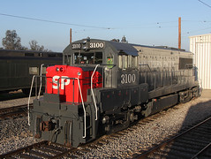 4 More of SP 3100 at Orange Empire Railway Museum - Part 4 (railfan 44) Tags: southernpacific