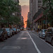 Sunset in Midtown