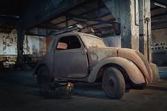 Maybe next winter we sky... (iMarco79) Tags: urban abandoned portugal car decay garage rusty uga decayed decaying ancien urbex urbaine abandonado uwa abandonada dcadence dchance