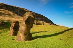 Heavy in Thought (jackkostelec) Tags: chile statue moai easterisland rapanui