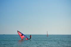 Two hearts (A. adnan) Tags: china trip blue sea vacation orange holiday beach beautiful sport boat nikon sailing colours guangdong touristattraction nikkor50mmf14d zhapo nikon50mmf14d bangladeshiphotographer d7000 aadnan613