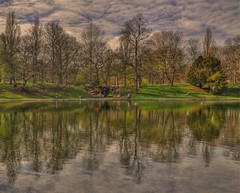Sefton Park Reflections (Keo6) Tags: park liverpool hdr sefton blinkagain