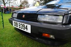 Izuzu (Sam Tait) Tags: classic car vintage pub village arms suspension lotus leicestershire retro april coupe meet 2012 carrington ashby isuzu izuzu handling folville