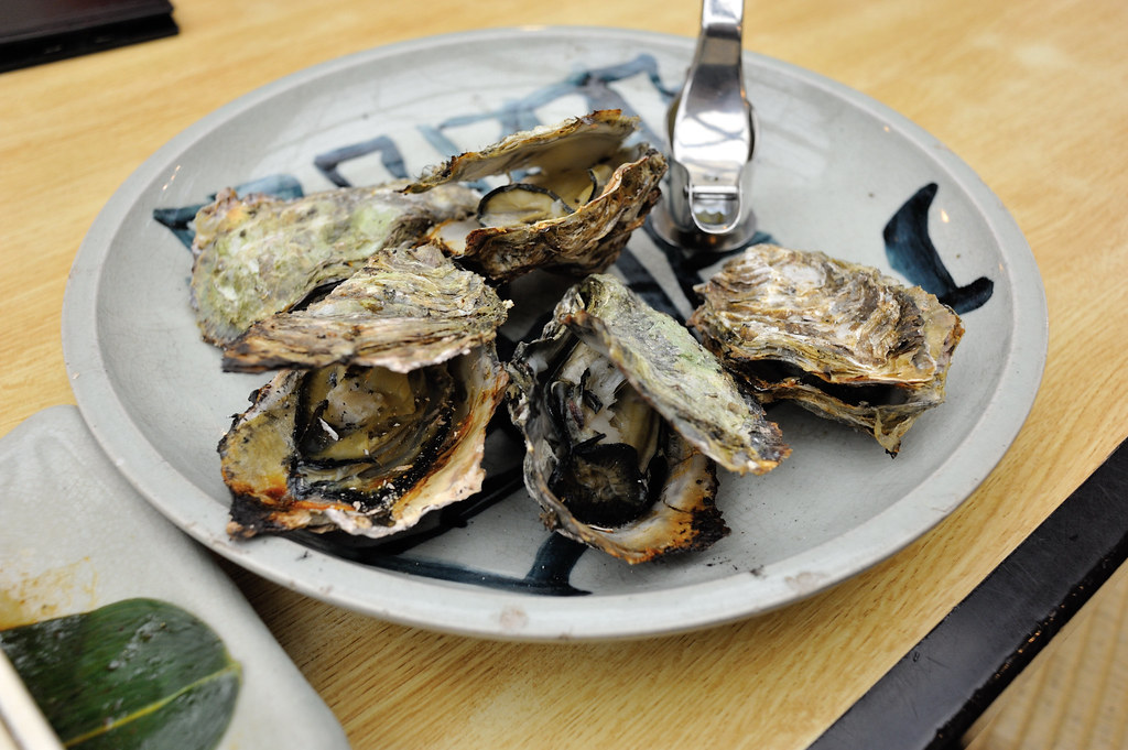easiest grilled oysters