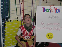 """day of therapy sponsor signs 016 • <a style=""""font-size:0.8em;"""" href=""""http://www.flickr.com/photos/94323781@N00/6990503838/"""" target=""""_blank"""">View on Flickr</a>"""