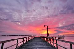 The Old Pier at Willoughby Bay (ByTheChesapeakeBay) Tags: longexposure sunset pier jetty chesapeakebay sigma1020mm nikond90 ultimateshot leefilters062stopndgrad