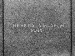 The Artist's Museum: MMX (~db~) Tags: california urban usa museum america john la losangeles downtown artist unitedstates socal engraving granite knight downtownla moca lacdubonnet insitu mmx johnknight theartistsmuseum s6100100dscn1961