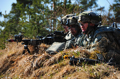 Training security (The U.S. Army) Tags: germany bavaria deu hohenfels jmrc 173rdairbornebrigadecombatteam 173rdabct jointmultinationalreadinesscenter 2503rd