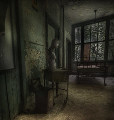 The 3rd floor  : ( explore ) (andre govia.) Tags: building abandoned mannequin hospital photo bed photos decay andre creepy explore sanatorium dummy asylum tuberculosis govia