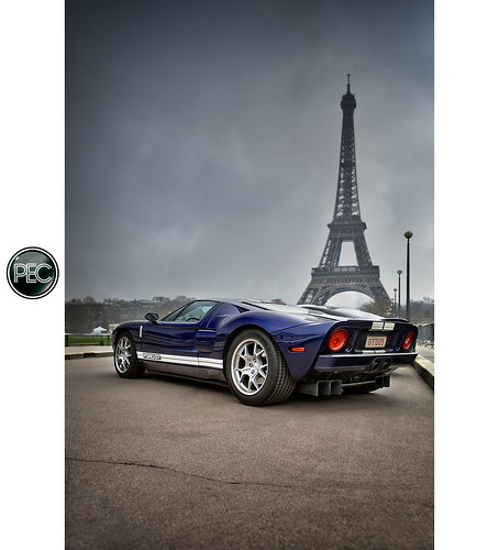 Ford GT - Rallye de Paris 2012