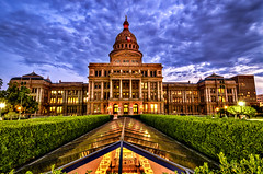 Austin Capitol at Sunset (Apogee Photography) Tags: sunset clouds austin texas places capitol hdr hdraddicted