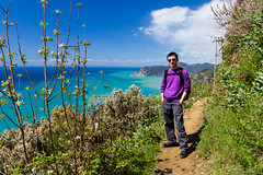 Cinque Terre (Gin-Lung Cheng) Tags: world travel family vacation portrait people italy holiday man male men travelling heritage me portraits walking asian europa europe european outdoor hiking liguria chinese location unesco abroad cinqueterre activity portret ik italie riomaggiore activities
