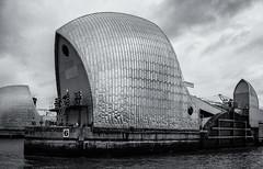 Thames Barrier (Richard Reader (luciferscage)) Tags: camera london water thames river flooding flood tide defence clipper 2012 thamesbarrier nikond700 richardreader