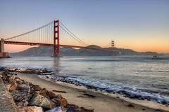 Golden Gate Sunrise 6 (Michael Lawenko dela Paz) Tags: sanfrancisco california bridge sunrise bridges goldengatebridge fortpoint suspensionbridge top20bridges michaeldelapaz michaeldelapazphotography americasbestarchitecture