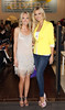 Mary Greene and Rosanna Davison at the Divine Boutique Spring Summer fashion show in Maynooth