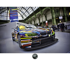 BMW M3 GT2 Art Cars - Tour Auto 2012 Grand Palais Paris (_PEC_) Tags: auto park paris art cars car photoshop canon photo automobile pix 2000 photographie tour image picture grand pic voiture coche bmw carro palais 5d  hdr 2012 optic mark2  pec 599 machina 2011   s   worldcars q 5dmarkii ch  ling oloneo shn jidousha