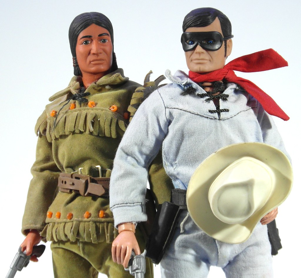 The Lone Ranger Amp Tonto MiskatonicNick Tags Gabriel Childhood Toys Actionfigures