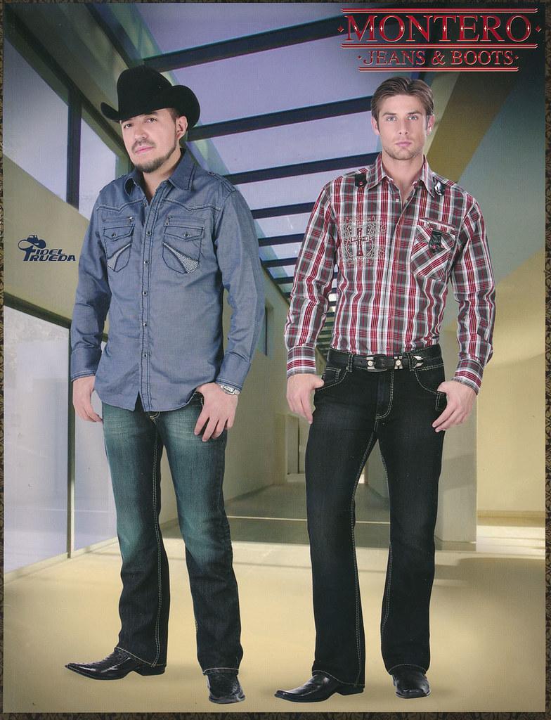 f34cb3b63 Catalogos Montero Jeans  amp  Boots 2012 Zapatos de USA Camisas de Hombre  Venta en USA