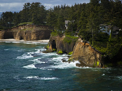 I wanna live there. (Dave Arnold Photo) Tags: ocean cliff house beach oregon forest bay coast photo fantastic pacific image cove or tide arnold dream picture wave pic coastal photograph newport oregoncoast mansion fabulous seashore cliffdwelling cliffhouse depotbay dreamhome depoe depoebay lincolncounty davearnold centraloregoncoast davearnoldphotocom mygearandme