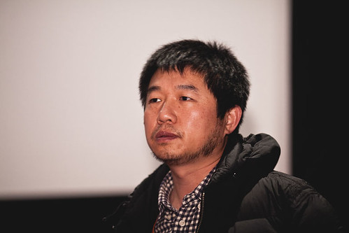 Wang Bing introducing The Ditch at the Filmhouse