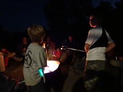 roasting marshmallows (maureenld) Tags: camping friends fun 40th bash may db campfire annual pinnacles 2012 pinnaclesnationalmonument bethereorbesquare desertbash btobs