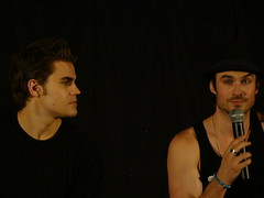 Paul Wesley & Ian Somerhalder (vagueonthehow) Tags: lost fallen smallville theoc i4 wolflake everwood iansomerhalder youngamericans rulesofattraction americandreams insurgence tvd paulwesley rogueevents thevampirediaries insurgence4