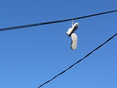 0627 - Shoes On A Wire (iluvgadgets) Tags: shoesonawire canonpowershotsx230hs 2012365photos