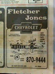 Fletcher Jones Chevy 1985 (frankasu03) Tags: las vegas chevrolet ads fletcher jones 60s retro 80s 70s dealership 90s