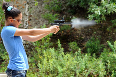 Shooter 1 (pmdandini) Tags: gun pistol guns shooting gunrange pistolshooting