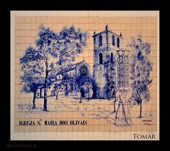 Azulejos  Igreja Santa Maria Olivais
